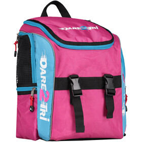 Dare2Tri Transition Rugzak 13L, pink/blue